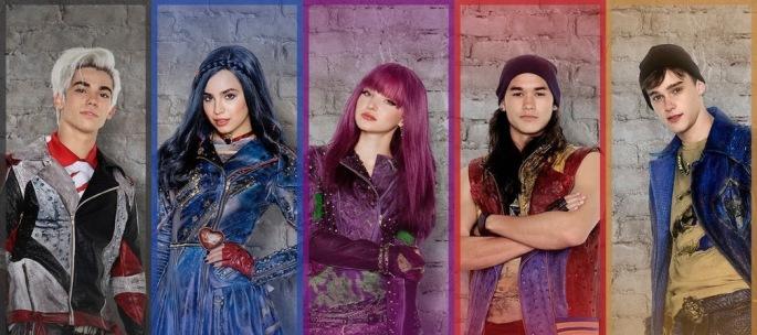 be40b465d Desdecentes chega ao Brasi no próximo dia 20 de agosto as 20h30 no canal  Disney Channel Brasil. Partiu ver ?