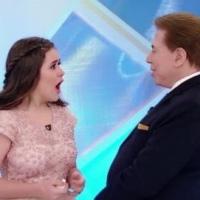 Silvio Santos pergunta se Maisa é virgem e se já viu o namorado pelado