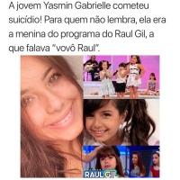 Morre Yasmin Gabrielle, ex-assistente mirim do Programa Raul Gil