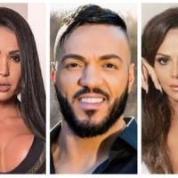 Belo traiu Gracyanne Barbosa e Viviane Araújo com a mesma mulher