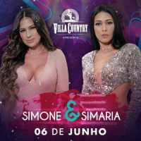 Simone e Simaria se apresentam no palco do Villa Country