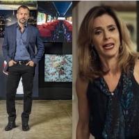 Em A Dona do Pedaço, Lyris furiosa expulsa Agno do armário: 'Meu marido é gay'